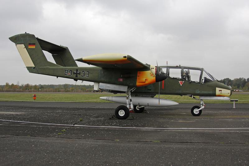 """99+33 Rockwell OV-10B Bronco """"German Air Force"""" c/n 338-18 Berlin-Gatow/EDBG/GWW 21-10-09"""