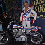 June 2017  Vroom, Vroom, and Zoom, Zoom with EVEL KNIEVEL.  Motorcycle performer and entertainer. Robert Craig