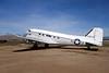 43-15579 Douglas DC-3 VC-47A-85-DL c/n 20045 March (M)/KRIV/RIV 27-01-18