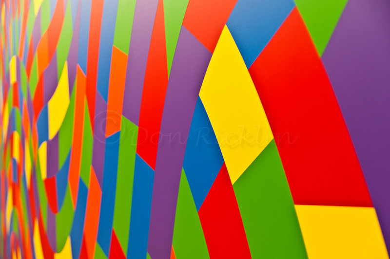 Sol LeWitt: A Wall Drawing Retrospective painting detail.