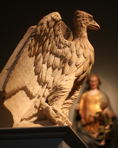 At the Metropolitan Museum of Art. Lectern with the Eagle of St. John the Evangelist