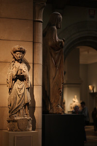 At the Metropolitan Museum of Art. Saint Mary Magdalene Limestone with traces of paint French Carved and painted about 1500-1525