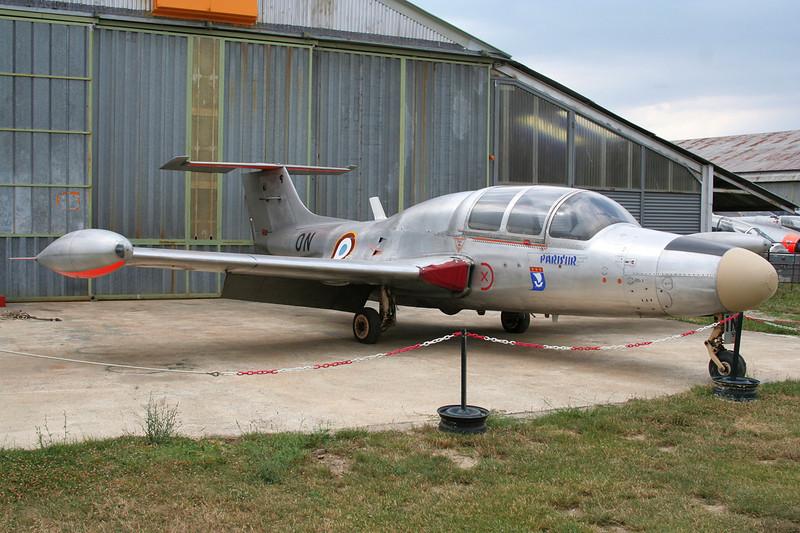 "116 (ON) Morane-Saulnier MS.760 Paris IIR ""French Air Force"" c/n 116 Montelimar/LFLQ/XMR 20-07-07"
