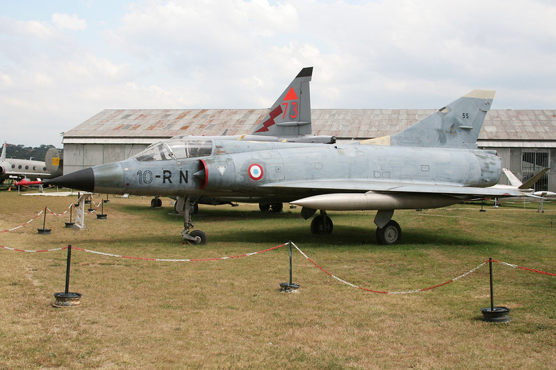 "55 (10-RN) Dassault Mirage IIIC ""French Air Force"" c/n 55 Montelimar/LFLQ/XMR 20-07-07"