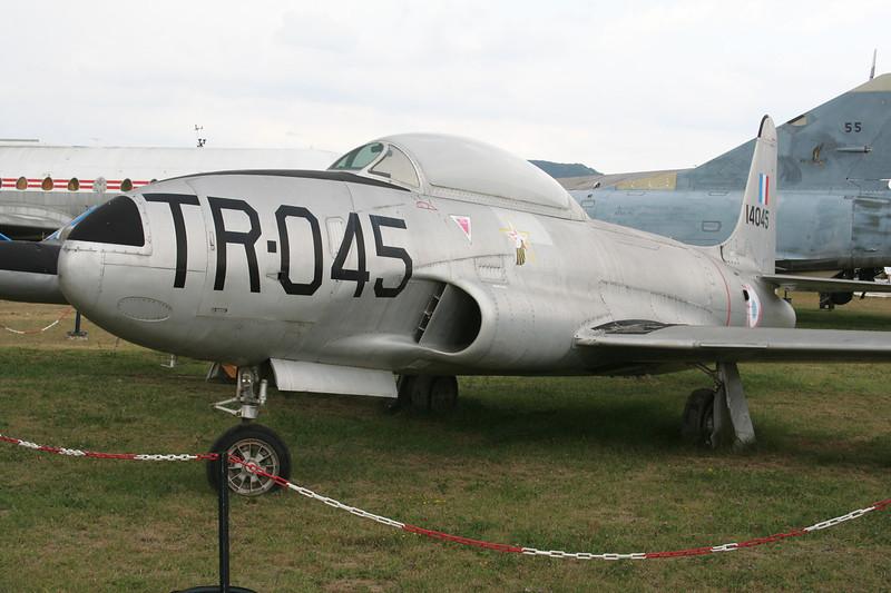 21121 (TR-045/14045) Canadair T-33AN Silver Star Mk.3 c/n T33-121 Montelimar/LFLQ/XMR 20-07-07