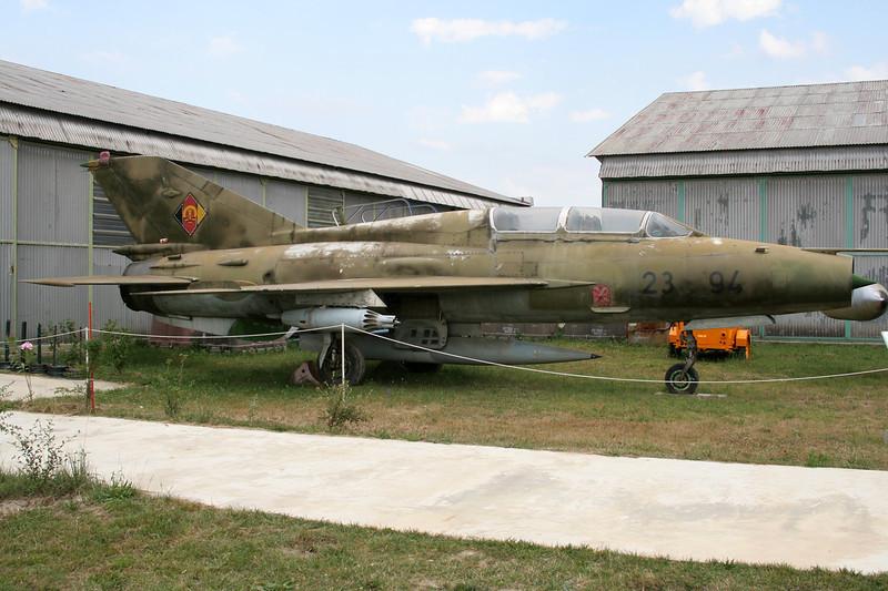 "23+94 Mikoyan-Gurevich MiG-21 ""German Air Force"" c/n 663820 Montelimar/LFLQ/XMR 20-07-07"
