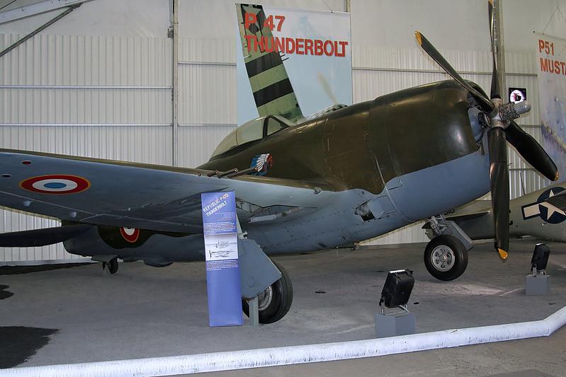 420371 Republic P-47D Thunderbolt c/n 44-20371 Paris-Le Bourget/LFPB/LBG 07-03-07