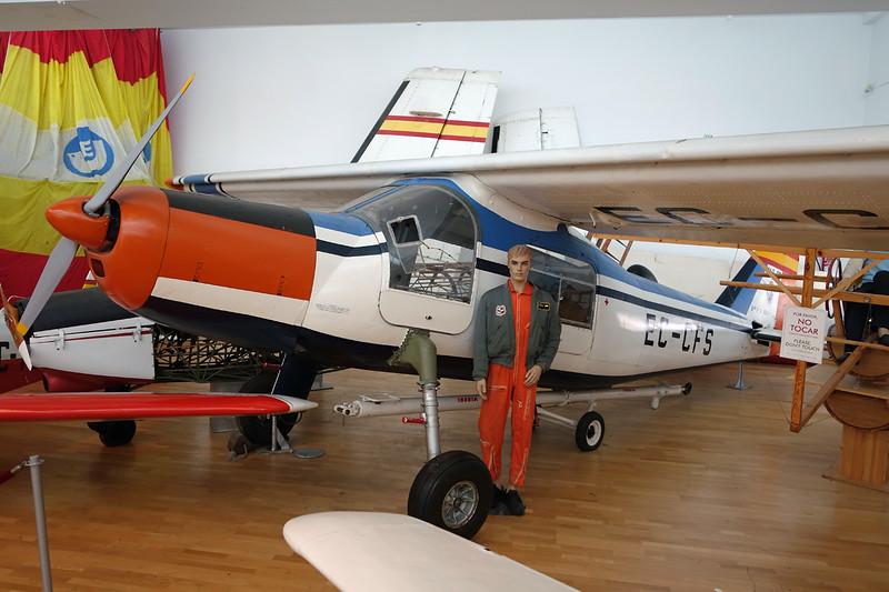 EC-CFS Dornier Do.27B-1 c/n 193 Malaga/LEMG/AGP 29-01-16