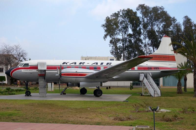 N8042W (OH-VKN) Convair 440 c/n 75 Malaga/LEMG/AGP 29-01-16