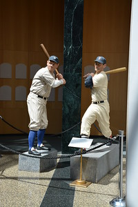 Sculptures in the National Baseball Hall of Fame & Museum
