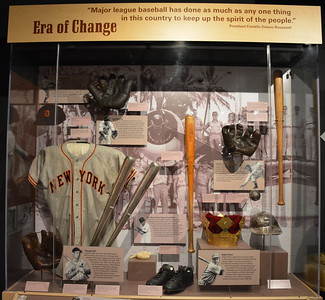 Era of Change at  the National Baseball Hall of Fame & Museum