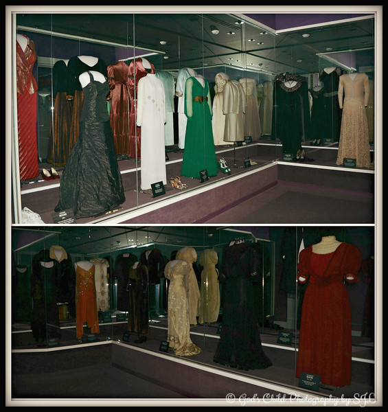 """GOWNS OF FIRST LADIES' OF ARKANSAS""<br /> <br /> ""The First Lady is an unpaid public servant elected by one person - her husband."" ~ Lady Bird Johnson<br /> <br /> First Ladies' gowns worn to inaugural balls when their husbands were governors of Arkansas<br /> <br /> Old State House Museum<br /> Little Rock, AR<br /> <a href=""http://www.oldstatehouse.com"">http://www.oldstatehouse.com</a>"