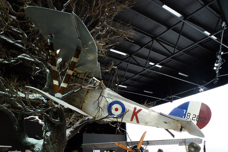 B2812 Nieuport 27 Replica c/n unknown Blenheim-Omaka/NZOM 25-03-12