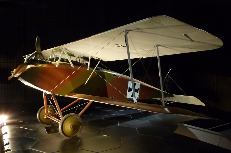 ZK-JOW Halberstadt D.IV Replica c/n S-11 Blenheim-Omaka/NZOM 25-03-12