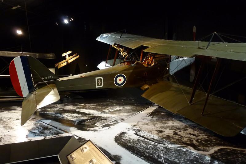 A4397 Royal Aircraft Factory RE.8 Replica c/n unknown Blenheim-Omaka/NZOM 25-03-12