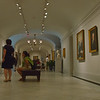 Inside Eastern Gallery, first floor, of the Smithsonian's American Art Museum.