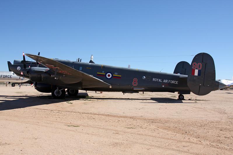 N790WL (WL790/90) Avro Shackleton AEW.2 c/n WL790 Pima/14-11-16