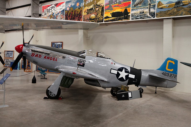 463272 Model of North American P-51D Mustang c/n unknown Pima/14-11-16
