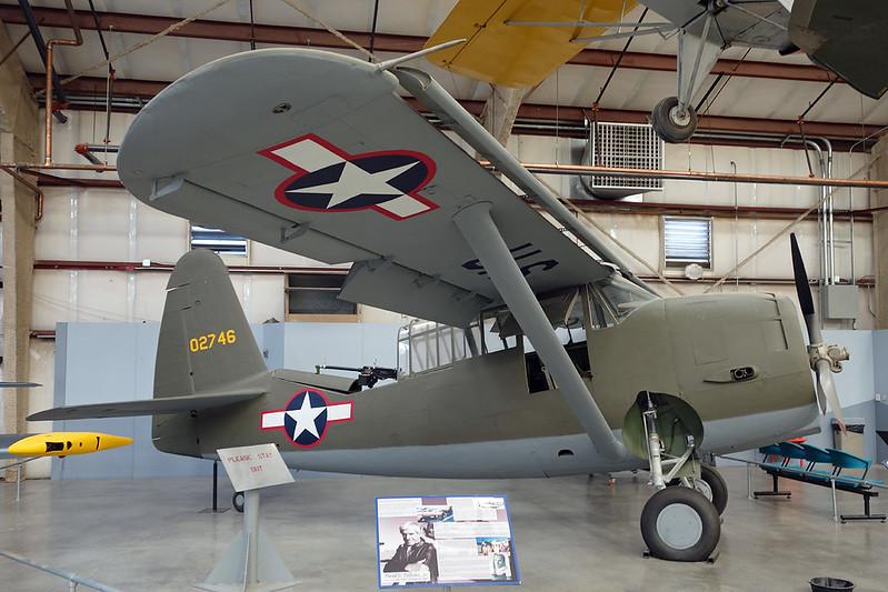 40-2746 Curtiss O-52 Owl c/n 14279 Pima/14-11-16
