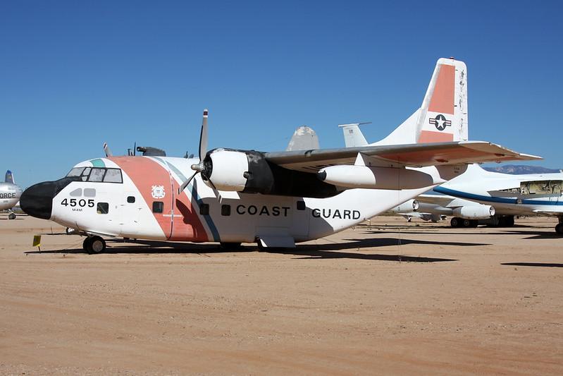 4505 Fairchild C-123B Provider c/n 20166 Pima/14-11-16