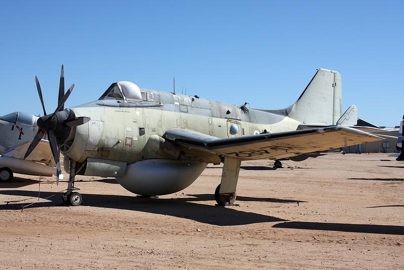 N1350X (XL482) Fairey Gannet AEW.3 c/n F.9451 Pima/14-11-16