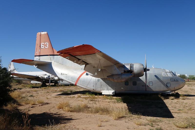N3142D (63) Fairchild C-123K Provider c/n 20029 Pima/14-11-16