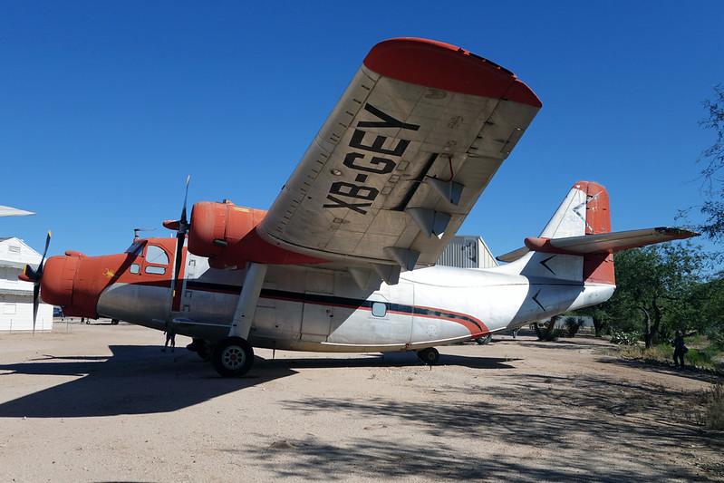 N2573B (XB-GEY) Northrop YC-125A Raider c/n 2520 Pima/14-11-16