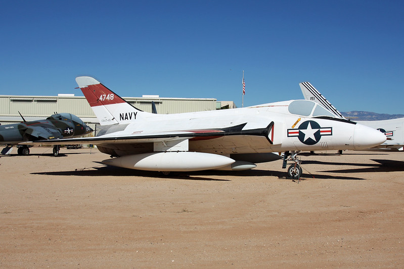 134748 Douglas F-6A Skyway c/n 10342 Pima/14-11-16
