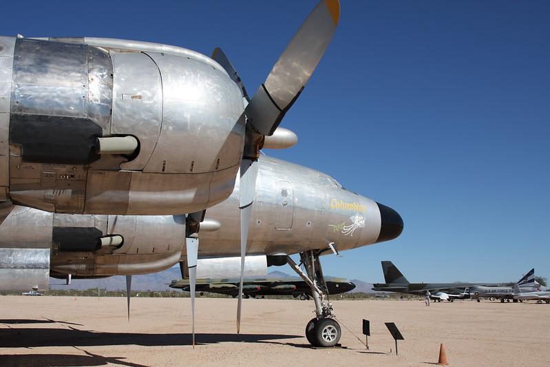 48-0614 Lockheed VC-121B Constellation c/n 2606 Pima/14-11-16