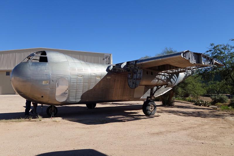 XB-QUZ Rudd RB-1 Conestoga c/n 016 Pima/14-11-16