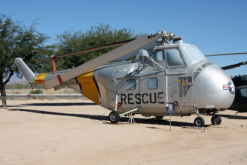 N2256G (27537) Sikorsky UH-19B c/n 55-640 Pima/14-11-16