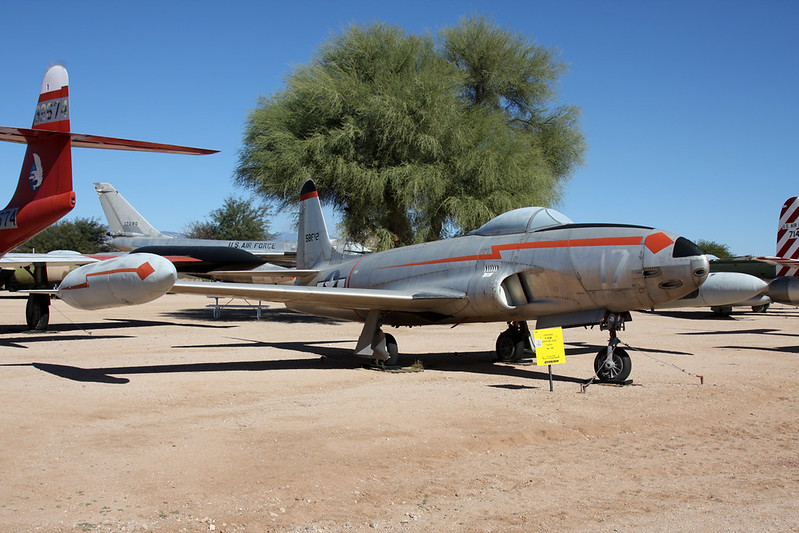 45-8612 (17/58612) Lockheed F-80B Shooting Star c/n 080-1826 Pima/14-11-16