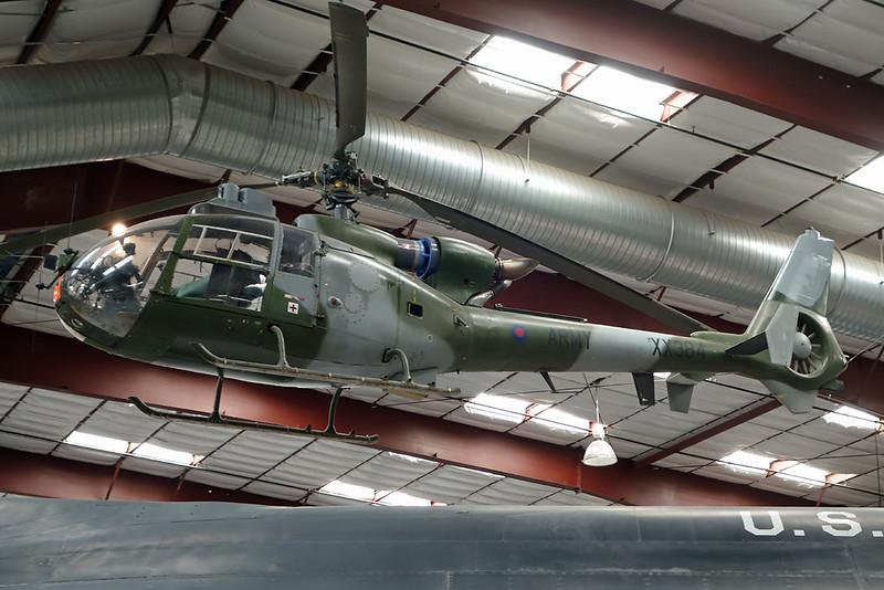 XX384 Aerospatiale SA.341B Gazelle AH.1 c/n 1276 Pima 29-01-18