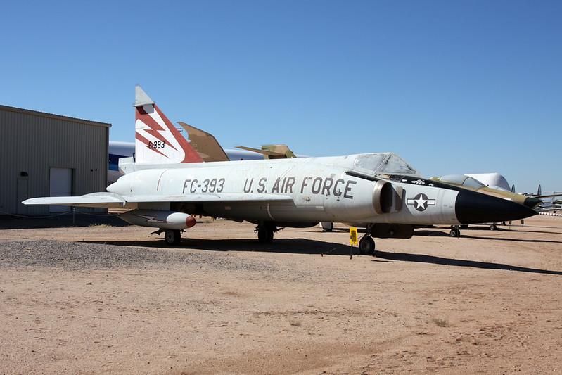 56-1393 (FC-393) Convair F-102A Delta Dagger c/n 8-10-610 Pima/14-11-16