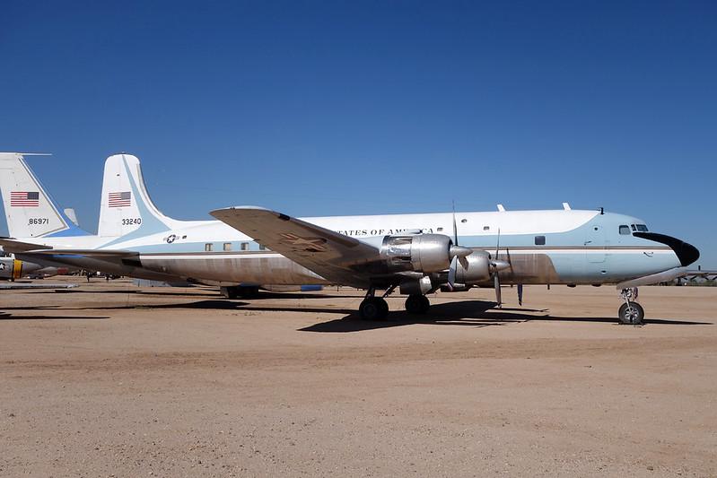 53-3240 Douglas VC-118A c/n 44611 Pima/14-11-16