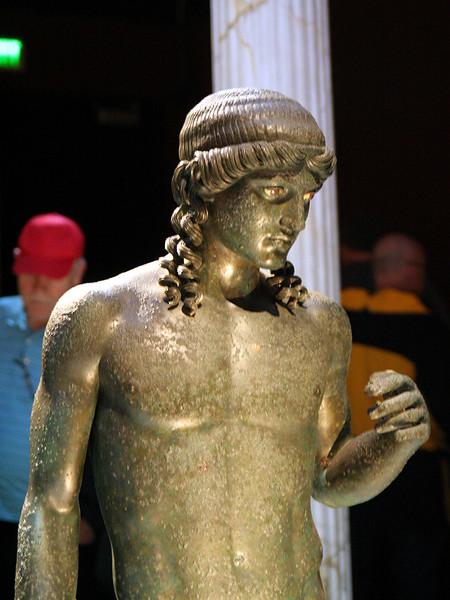Pompeii Exhibit at OMSI, Statue of Apollo Citharist