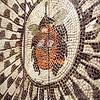 Pompeii Exhibit at OMSI, Gorgon Mosaic