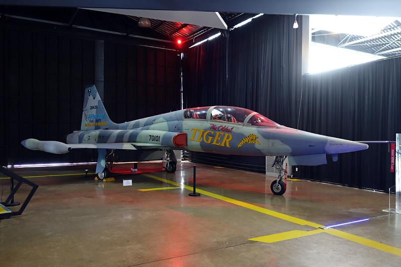 B.Kh18k-1/09 (70101/38438) Northrop F-5B Freedom Fighter c/n N8001 Bangkok-Don Muang/VTBD/DMK