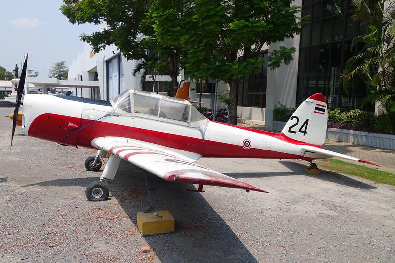 B.F9-24/95 (24) de Havilland Canada DHC-1 Chipmunk T.20 c/n C1/0382 Bangkok-Don Muang/VTBD/DMK