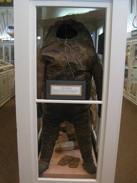 Eskimo whaling suit