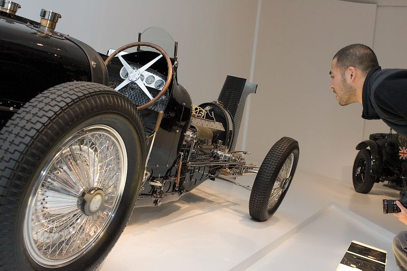 <h3>1933 Bugatti Type 59 Grand Prix</h3> Compare the Bentley with this.