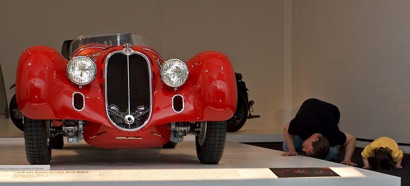 <h3>1938 Alfa Romeo 8C 2900 Mille Miglia</h3>