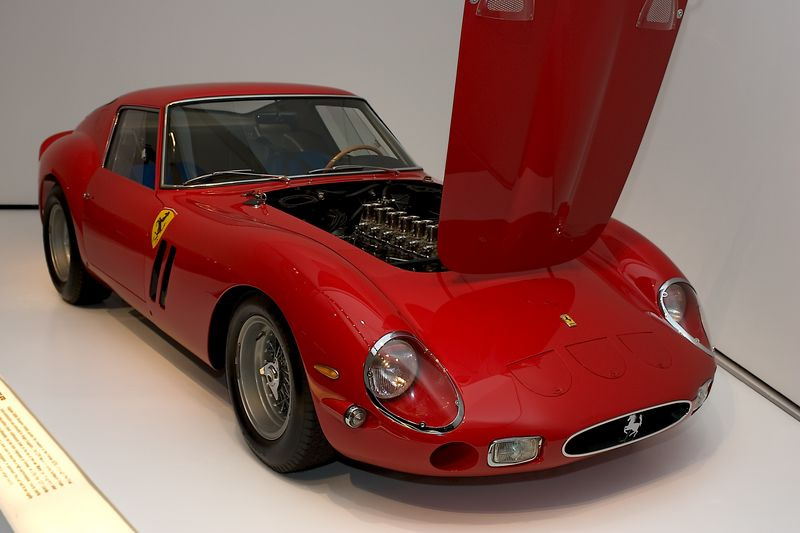 <h3>1962 Ferrari 250 GTO</h3> My friend Erik (Doctor It) Miller, put this car on his list for Santa.