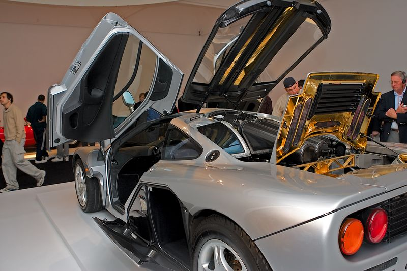 <h3>1996 McLaren F1</h3> This thing has a top speed of 230 MPH and does 0-60 in under 3.5 seconds.