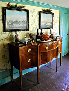 Dining Room buffet at the Turner-Ingersoll Mansion