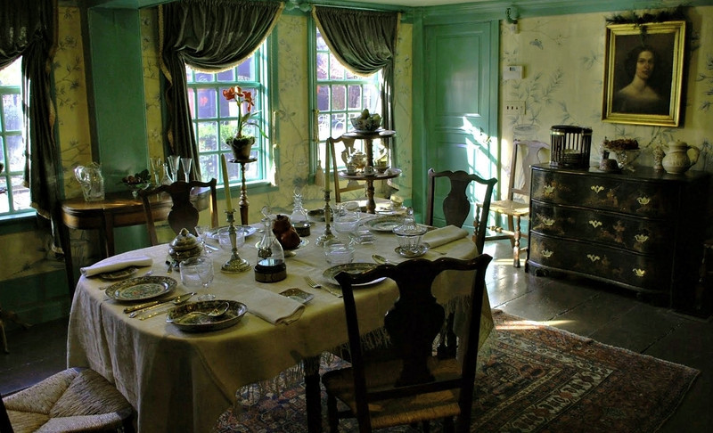 Dining Room of the Turner-Ingersoll Mansion