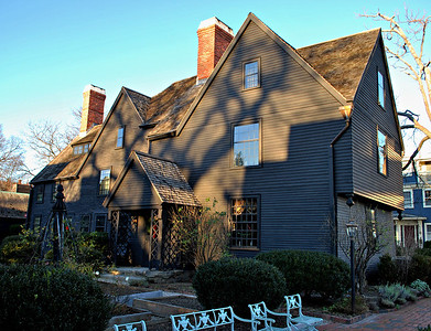 The Turner-Ingersoll Mansion aka The House of the Seven Gables