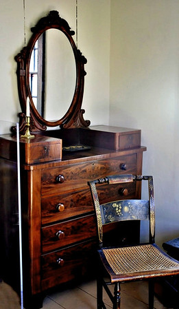 Dresser in the upstairs back bedroom