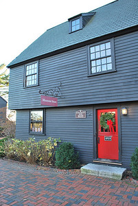 The Retire Beckett House now serves as the museum's store.
