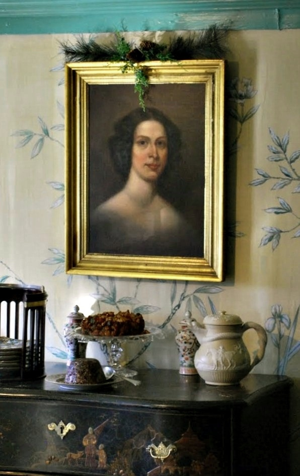 Portrait of Susannah Ingersoll, owner of the Turner-Ingersoll Mansion